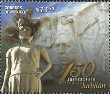 J) 2016 MEXICO, 150 YEARS OF THE BATTLE OF JUCHITLAN, MNH - México