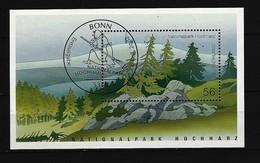 BUND - Block Mi-Nr. 59 Nationalpark Hochharz Gestempelt BONN - BRD