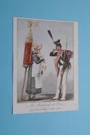 La MARCHANDE De COCO Par Carle Vernet (1758-1835 ) ( ? Bijgesneden ? Paré ? ) Imp. Draeger Frères ! - Au Bon Marché