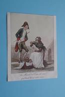 La March.de D'Eau De Viel Par Carle Vernet (1758-1835 ) ( ? Bijgesneden ? Paré ? ) Imp. Draeger Frères ! - Au Bon Marché