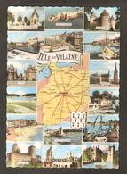 Département D'Ille Et Vilaine:St-Méen Le Grand,Guipry,Vitré,St-Briac,Dinard,Fougères,Dol,Paimpont,Cancale,Redon,Montfort - Francia
