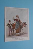 La March. De CERISES Par Carle Vernet (1758-1835 ) ( ? Bijgesneden ? Paré ? ) Imp. Draeger Frères ! - Au Bon Marché