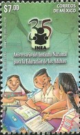 J) 2016 MEXICO, ADULTS LEARNING, STUDYING, NATIONAL INSTITUTE FOR ADULT EDUCATION 35th ANNIVERSARY, MNH - Mexico