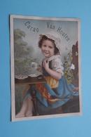 Cacao Van HOUTEN Weesp-Hollande ( Format +/- 11 X 15 Cm. ) > Zie Details Op Foto ! - Van Houten