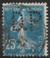 France-N°140 Perforé D.P-Ancoper D.P 93 - Perforadas