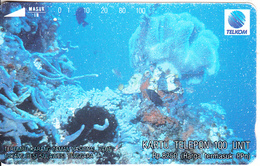 INDONESIA - Underwater Life 6(2nd Series), 08/94, Used - Indonesia