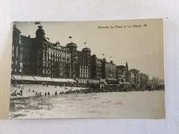 OOSTENDE  OSTENDE LA PLAGE ET LES HOTELS   EDITEUR EM. GOES - Oostende