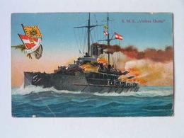 K.U.K. Kriegsmarine Marine  SMS 1154 Viribus Unitis 1917 Ed M Schulz - Guerra
