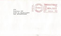 "Trinidad & Tobago 2001 Tunpanua Meter Pitney Bowes ""EasyMail"" PB020 Cover - Trinidad & Tobago (1962-...)"