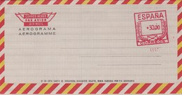 España Aerograma Nº 142 - Stamped Stationery