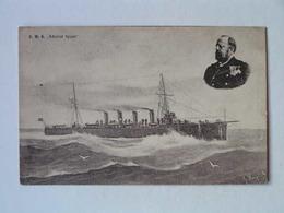 K.U.K. Kriegsmarine Marine  SMS 1166 Ed C Fano 1911 SMS Admiral Spaun - Guerra