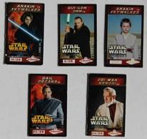 5 Magnets STAR WARS 2005  LFL Le Gaulois Dark Vador Obi Wan Kenobi - Merchandising