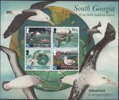 South Georgia & South Sandwich Islands 2017 Bloc Feuillet Albatros Neuf ** - Géorgie Du Sud