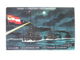K.U.K. Kriegsmarine Marine  SMS 1184 SMS St Georg Erzherzog Karl Habsburg Monarch Wien 1914 Ed C Fano Nr 44 - Guerra
