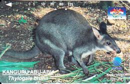 INDONESIA - Kangaroo, Thylogale Brunii, 11/96, Used - Phonecards