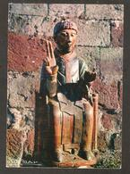 A. 10.594- MURAT ( Cantal) Eglise De Bredons - Statue De St-Pierre (XII° Siècle) - Murat