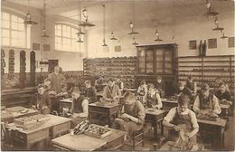 Wetteren - Vakschool Ste Barbara - Schoenmakerij - Cordonnerie. - Wetteren