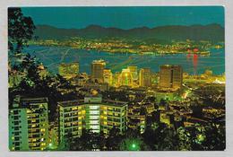 CINA CHINA HONG KONG AND KOWLOON AT NIGHT - Cina (Hong Kong)