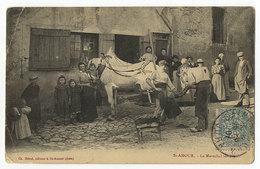 St.Amour, Le Marechal Ferrant, Pferd, Hufschmidt - Francia