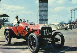 Itala Grand Prix  - 1908  -  Publicité Trophirès   -  Carte Postale - Passenger Cars