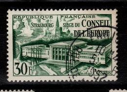 YV 923 Oblitéré Conseil De L'Europe Cote 6 Euros - France