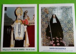 Santino,São Bento De Vairão. Santa Escolástica. - Religione & Esoterismo