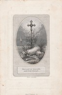 Broeder Victorius Franciscus Doorme-iseghem 1825-broeder Van Liefde Gent-kuldershuis 1857 - Devotion Images