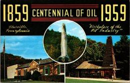 Pennsylvania Titusville Centennial Of Oil 1859-1959 - United States