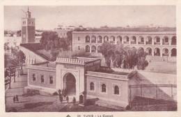 1934 TUNEZ- LA CASBAH. CAP. VOYAGEE- BLEUP - Tunisie