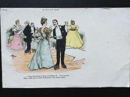 CPA  Humoristique Série Le Bras Aux Dames Couples Dans Une Salle De Bal - Guillaume