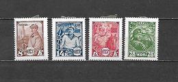 1928 - N. 412/15* (CATALOGO UNIFICATO) - Nuovi