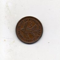 Cipro - 1955 - 3 Mils - Vedi Foto - (MW2519) - Cipro