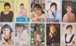 LOT De 50 TELECARTES PRIVEES DIFFERENTES Japon FEMME FEMMES GIRL GIRLS WOMAN WOMEN Japan PRIVATE PHONECARDS FRAUEN  6120 - Japan