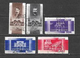 1933 - N. 504/08 USATI (CATALOGO UNIFICATO) - Usati