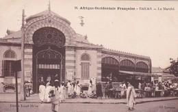 1915'S SENEGAL- DAKAR.LE MARCHE. EDIT JOSEPH HE'ON- BLEUP - Sénégal
