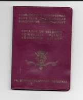 Passeport Belge (1987) - Old Paper