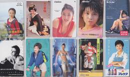 LOT De 50 TELECARTES PRIVEES DIFFERENTES Japon FEMME FEMMES GIRL GIRLS WOMAN WOMEN Japan PRIVATE PHONECARDS FRAUEN  6122 - Japan