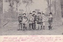 AK Die 7 Schwaben - Kinder In Kostümen - 1900 (42456) - Theater