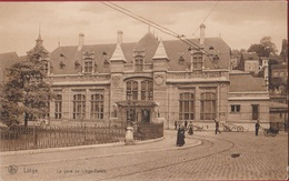 Liège Luik La Gare De Liège Palais Animée RARE Station Statie (En Très Bon Etat) (In Zeer Goede Staat) - Liege