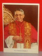 S. S. Joannes Paulus I Pont. Max. Papa Giovanni Paolo I Cartolina Non Viaggiata - Papas