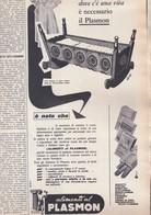 (pagine-pages)PUBBLICITA' PLASMON   Gente1961/12. - Libri, Riviste, Fumetti