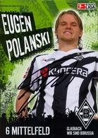 TARJETA PUBLICITARIA , FÚTBOL , SOCCER , FOOTBALL , BORUSSIA - BUNDES LIGA , EUGEN POLANSKI - Fútbol