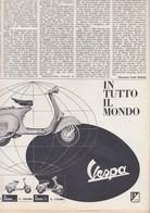 (pagine-pages)PUBBLICITA' VESPA   Gente1961/12. - Libri, Riviste, Fumetti