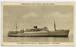UNION CASTLE LINE : DURBAN CASTLE / QEII 10 CENTS ADEN & ADEN G.P.O. FRANKING / ADDRESS - CHERITON, ALRESFORD - Aden (1854-1963)