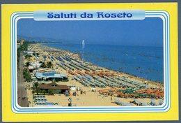 °°° Cartolina N. 131 Saluti Da Roseto Viaggiata °°° - Teramo
