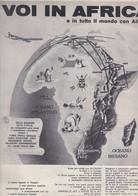 (pagine-pages)PUBBLICITA' ALITALIA   Gente1961/12. - Libri, Riviste, Fumetti