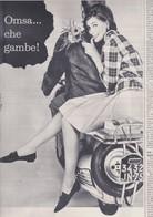 (pagine-pages)PUBBLICITA' OMSA   Gente1961/12. - Libri, Riviste, Fumetti