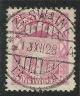 LATVIA POSTMARK. USED ZESWAINE - Latvia