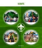 MALDIVES 2019 - Scouts, Archery. Official Issue [MLD190313a] - Tiro Al Arco