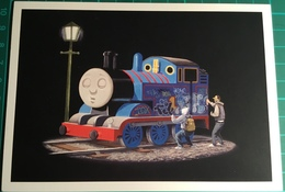 Thomas The Tank Engine Tagged ~ Banksy - Schilderijen